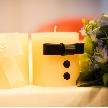Wedding space hanami 表参道:お二人オリジナルの装飾を!空間づくりも演出のひとつ