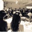 Wedding space hanami 表参道:正方形なので、ゲスト様との一体感があります。