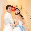 Wedding space hanami 表参道:入場前はちょっぴりどきどき…?
