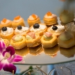 Wedding space hanami 表参道:女性も食べやすいお料理の数々