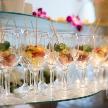 Wedding space hanami 表参道:ピンチョスをグラスに入れて更に華やかに