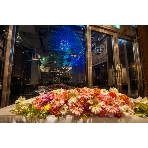 Dining cafe Luxe(リュクス):☆メインテーブル☆  日没後は観覧車をバックに素敵な雰囲気に