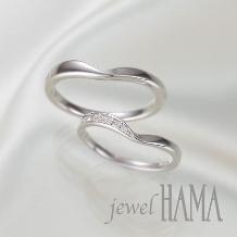 jewel HAMA(ジュエルはま)_【二人で作る結婚指輪】aula アウラ <そよ風>
