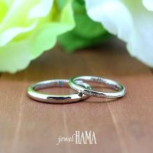 jewel HAMA(ジュエルはま)_【二人で作る結婚指輪】お客様制作品