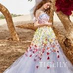 カラードレス、パーティドレス:TIGLILY