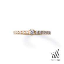 ith(イズ)_【デイリースタイルの婚約指輪】ヴィオーラ / Viola