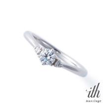 ithの婚約指輪&結婚指輪