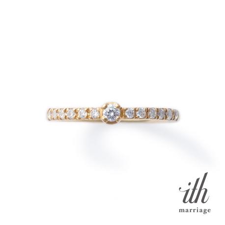 ith:【デイリースタイルの婚約指輪】ヴィオーラ / Viola