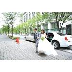 GARB Tokyo:路面店ならではのリムジン入場!!