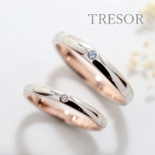 TRESOR(トレゾア)_『自由なアレンジで世界に一つの結婚指輪に』セミオーダーで造る二人だけの結婚指輪に
