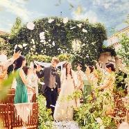 ラ・ブランシュ富山:【開放的な結婚式】ガーデンチャペル体験♪テラス席×コース試食