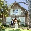 BARN&FOREST(バーン アンド フォレスト):【豪華特典】憧れドレス39万円&貸切邸宅W体験*ハーフコース付き