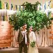 ご家族ご親族との結婚式とご友人とのパーティーが同じ場所で叶う!1日1組貸切だからゲストに合わせた時間軸をおふたりが決められるのもポイント。挙式とパーティー、メリハリを付けたいおふたりにおすすめ◎