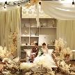 【会場をおふたり色に七変化!】空間デザイナーが手掛けた先輩カップルの事例を元にご紹介。イメージがわかない方もまずはお気軽にご相談ください♪サプライズ感あふれる結婚式を一緒に創りましょう!