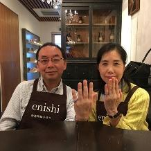 結婚指輪手作り.com enishi:enishi手作り結婚指輪工房(波ねじり)