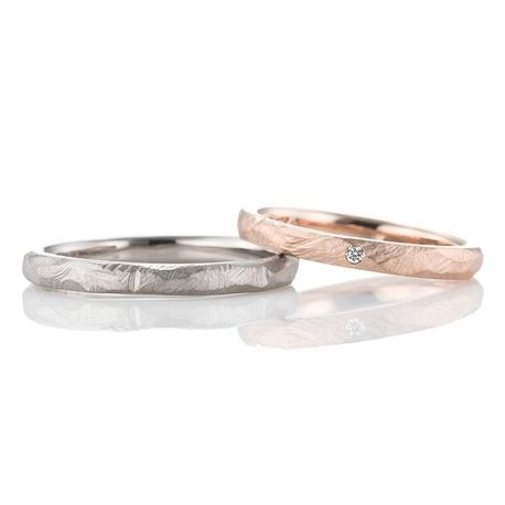 結婚指輪手作り.com enishi:enishi手作り結婚指輪工房(槌目の手作り結婚指輪)