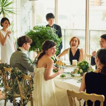 NAKANOSHIMA TERRACE # AND ME(中之島テラス # AND ME):【#100万円で抑えたい】#家族会食#少人数での結婚式相談会