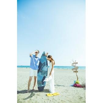 GREENROOM BEACH CLUB(グリーンルーム ビーチクラブ):【ビーチBBQウェディング♪】絶景挙式入場体験フェア★