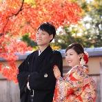 ロケーション撮影、前撮:京都祇園 着な晴れ