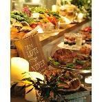 OMK ORGANIC&NATURAL MARKET KITCHEN:有機の野菜を使用した豪華の料理の数々