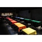 Cafe comme ca(カフェコムサ 銀座店):立食スタイルは100名収容可能なキャパシティ
