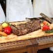 Anchor Point(アンカーポイント):当店イチオシ!是非召し上がって頂きたい美味しいお肉は、ステーキにしたりローストビーフにしたり・・・お2人のご希望に合わせてご用意できます。