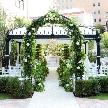ソンブルイユ~幸せを味わうレストラン~:【ガーデン挙式重視】緑に囲まれたガーデンウェディングフェア