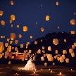 THE GRASS HOUSE 桜の杜:【ゲストと一緒に★】目の前に広がるスカイランタン×豪華試食
