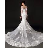 S.eri Wedding Dress Shop:【新作・個性派花嫁にオススメ!】レース×刺繍のロングトレーンマーメイドドレス