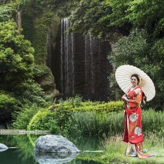 THE LANDMARK SQUARE OSAKA(ザ ランドマークスクエア オオサカ):<新緑◇和装映える>大阪城を望む美景庭園×極上試食付フェア