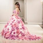 Atelier Felice:【小さな頃から憧れていたお花畑ドレス♪】ガーリーを演出したい花嫁へ