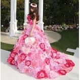 Atelier Felice:★立体的なお花が500個★ボリューミー&ゴージャスなフラワードレス♪