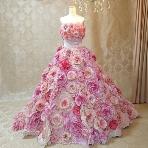 Atelier Felice:【小さな頃から憧れていたお花畑ドレス♪】キュートさを演出したい花嫁へ
