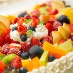 ネスカフェ 原宿:ケーキはお店のオリジナルオーダーメイドでご提供します