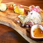 肉の秘密基地 鉄板ビストロ恵比寿:オプションにてお料理のグレードアップが出来ます♪