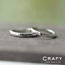 CRAFY(クラフィ):☆ふたりで作る☆結婚指輪 PT900