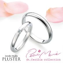 Jewelry Studio PLUSTER(ジュエリースタジオプラスター)_プラスターマリッジジリング結婚指輪Petit Marie PM-11 PM-12