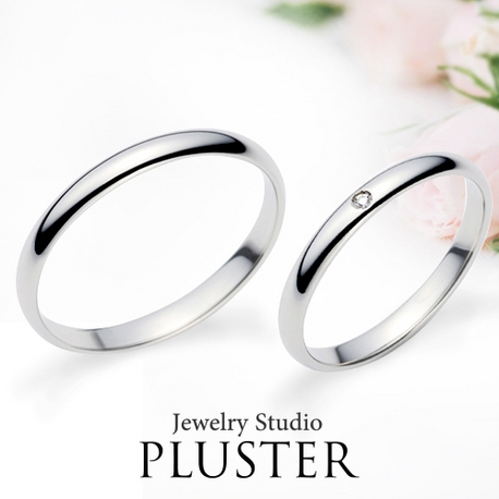 Jewelry Studio PLUSTER アミュプラザみやざき店:プラスター宮崎マリッジジリング(結婚指輪)プラチナダイヤモンドDear999