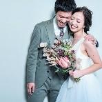 スタジオ撮影、前撮:funo wedding(フーノ ウエディング)
