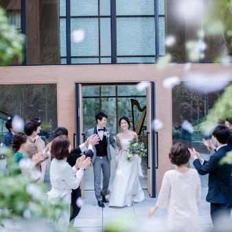THE THOUSAND KYOTO(ザ・サウザンド キョウト):[一足早く花嫁体験]緑豊かなガーデン付独立チャペル×全館見学