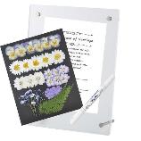 花*花Gluck(はなはなぐりゅっけ):【ネット注文】押し花のハンドメイドの結婚証明書作成キット 大 ブルー