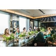 TABLE 9 TOKYO:【25名までの少人数W】美食レストランで叶える挙式&会食会