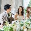 家族親族での挙式+食事会は1ヶ月前申込でもOK!決めることは衣裳・料理・装花・写真なので1回の打合せで準備完了。少人数専用プランもあります。ナチュラルな雰囲気の会場でお料理と会話を楽しむ結婚式を♪