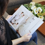 ナナクリエイト:迷ったらコレ!【親ギフト/オリジナルアルバム】1番人気のフルフラット20ページ
