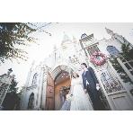ロケーション撮影、前撮:白水台聖アンナ教会
