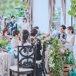 ◆初見学カップル様限定特典付◆2019年NEWOPEN記念ギフト×シェフと一緒に拘る完全オリジナルコース無料試食×人気チャペルでの映像体験フェア!ガーデン付貸切邸宅でお二人らしいオリジナルウエディングを♪