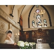 VICTORIA GROVE:【本格教会×緑のガーデン】圧巻の挙式体験×豪華3品無料試食