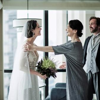 キンプトン新宿東京:【上質なファミリー婚】高層階の都内のロケーションを少人数貸切