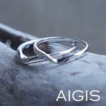 AIGIS(アイギス)_【二人で作る結婚指輪】プラチナ×シンプル・王道おしゃれデザイン(所要時間3時間)