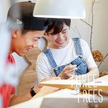 THREE TREES(スリーツリーズ)_THREE TREES 手作り結婚指輪 人気のデザイン!